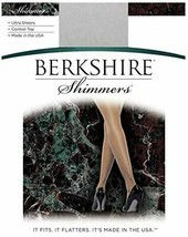 Berkshire SILVER Shimmers Ultra Sheer Control Top Pantyhose, 3-Pack, Size 2 - $13.37