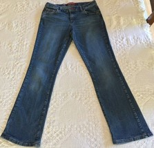 Arizona Girl's Bootcut Blue Jeans Size 14 1/2 Plus (28 x 28) - $9.95