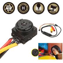 1000TVL Color Mini Micro Screw Pinhole Button Hidden Camera Home CCTV Se... - $37.60