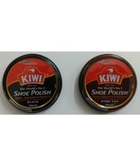 Kiwi Shoe Polish  Black / Dark Tan  15 Gm  Shoe Polish  Kiwi - $4.25