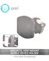 ONN Magnetic Vent-Mount-Mobile Device Holder-Holds Most Smartphones
