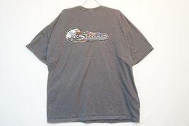 Harley RK Stratman Midweight Cotton T-Shirt, Gray, Men's 2XL 7721 image 5