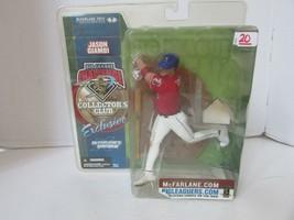 Mcfarlanes MLB Jason Giambi Collectors Club Figur Exclusiv 2002 L227 - $8.78