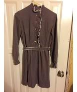 girls calico dress pioneer costume Halloween theatre old timey - $9.89
