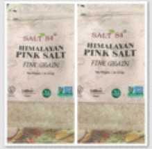 Set Of 2 Himalayan Pink Salt Fine Grain 1 Pound Bags By Salt 84 - $24.99