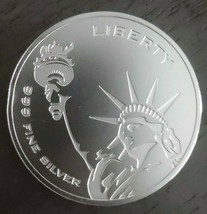 1 oz Silver Round - Asahi Freedom Liberty .999 Fine - $42.00