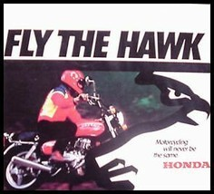 1978 Honda Hawk Brochure - $28.33