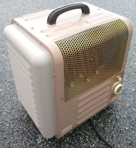 Vintage TITAN Electric Space Heater Model 368E Portable Metal Heater  - $74.93