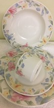 Lynns Fine China 4 Piece Place Setting Service For 1 - $24.74