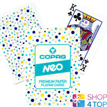 COPAG NEO CONNECT POKER PLAYING CARDS DECK PAPER STANDARD INDEX NEW - $7.51