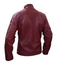 Star Lord Guardians of Galaxy Peter Quill Chris Pratt Biker Leather Jacket image 3