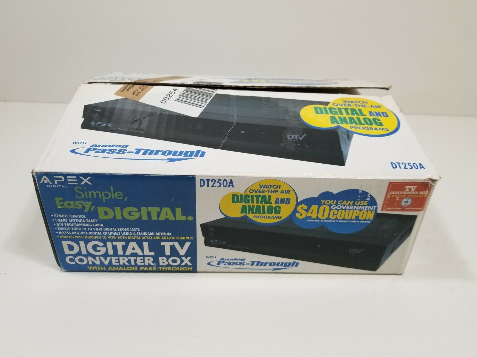 APEX DT250A Digital TV converter box image 5