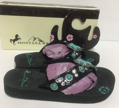Kids Montana West Girls Sandals Shoes Turquoise Embellished Many Sizes image 6