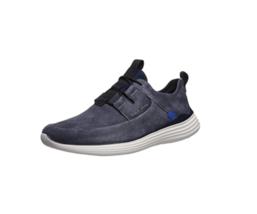 Cole Haan Men Grandsport Apron Toe Sneaker US 11.5M Ombre Blue Suede C30757 - $72.94
