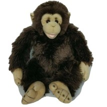 """Build A Bear Monkey Chimpanzee Brown Zoo Exclusive Plush BAB 2009 16"""" - $49.49"""
