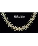 Coro Vintage Rhinestone Necklace  Beautiful Bridal Piece  Loads of Fire ... - $44.00