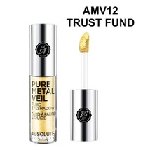 ABSOLUTE NEW YORK PURE METAL VEIL FLUID EYESHADOW TRUST FUND AMV12 - $2.56