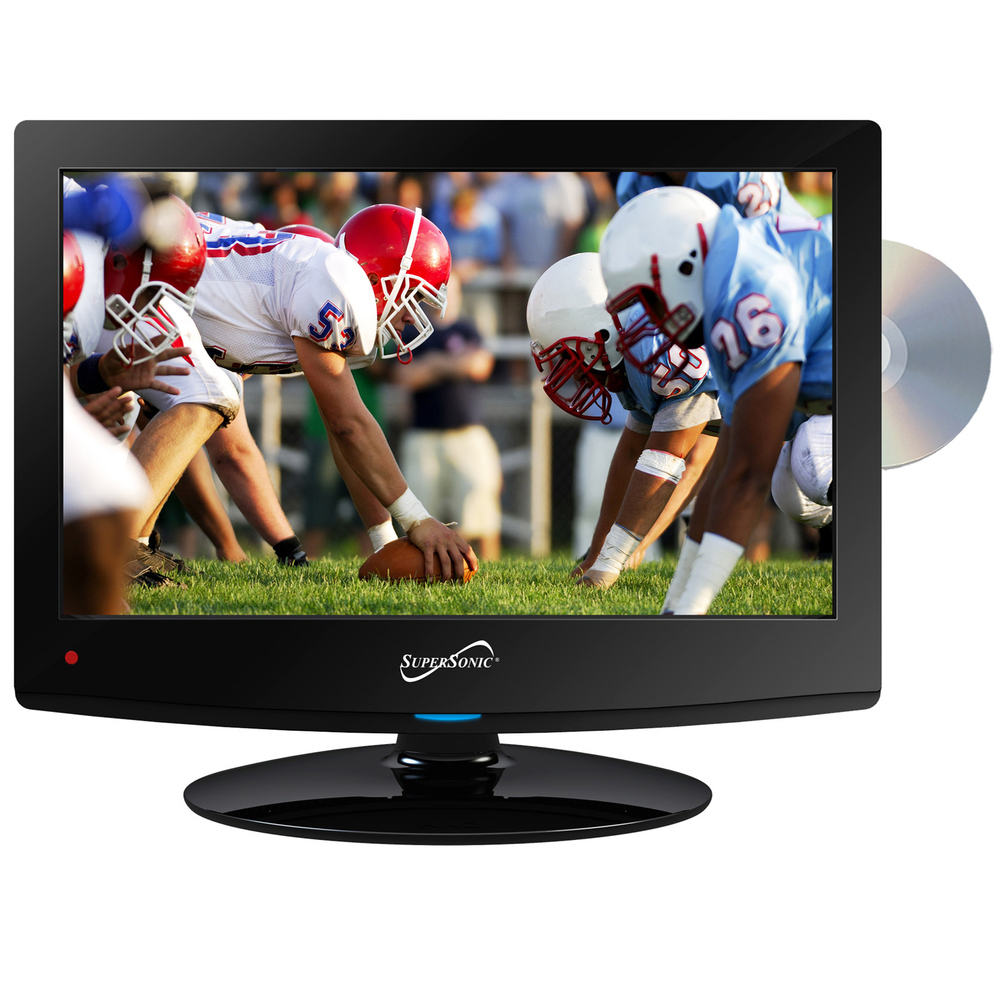 Supersonic 15 Class LED HDTV with Built-in DVD Player