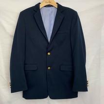Tommy Hilfiger Boys Alexander Blazer Masters Navy Blue Two Button Suit Jacket 18 - $24.74