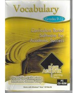 High Achiever Vocabulary Grades 9-12 CD ROM For PC New Windows Vista 98 ... - $14.80