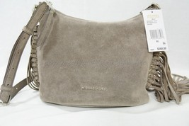 Michael Kors Billy Medium Fringe Suede Leather Meesenger/Crossbody Cinder - $149.00