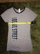 Memphis Tennessee Beale Street slim fit t-shirt size large short sleeve juniors - $6.85