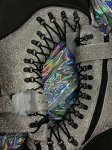 Wut? sickening CRYSTAL TRAITOR BOOTS SIZE 10 IN HAND! Ships Today! image 2