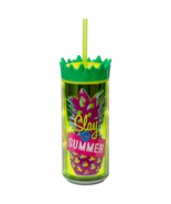 """Cool Gear 16 oz Easy Fill Pineapple Can Double Wall Insulated """"Slay All ... - $7.95"""