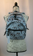 Vera Bradley Essential Compact Backpack Playful Penguins Gray NWT Free Ship - $86.21+