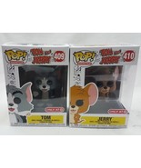 Funko POP Tom and Jerry 409 410 Target Exclusive Set POP Vinyl Figure IN... - $34.60