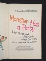 "Vintage 1973 Set of 3 ""Monster"" books from Bowmar image 6"