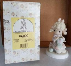 FIGURINE Precious Moments NEW NIB My Love Will Keep You Warm 272957S 199... - $6.44