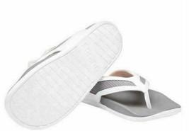 Adidas Women's White Grey Adilette CF+ Summer Sandals Flip Flop Thongs S81199 image 2