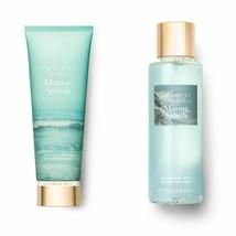 2 Pc Victoria's Secret Marine Splash Fragrance Mist & Cream Gift Set New - $24.30