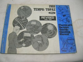 1988 Ford Tempo / Topaz Electical & Vacuum Trouble shooting manual Revis... - $12.86