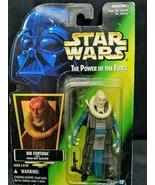 Star Wars BIB FORTUNA w Hold-Out Blaster 1996 Card POTF Action Figure NIP - $9.89