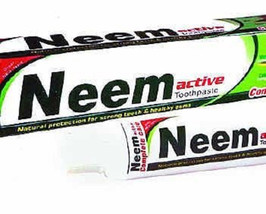 200 gm Neem Active Tooth paste  with free shipping  - $9.98