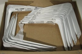 "18 Cal Hawk Tools 4"" x 5"" Shelf Brackets - White - New - $14.24"