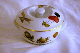 "Royal Worcester Shelton Orchard Shape 23 Individual Covered Casserole 4"" - $20.78"
