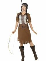 Indian Warrior Princess Costume, Large, Fancy Dress, US 12-14 #CA - $39.16