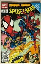 SPIDER-MAN #24 (1992) Marvel Comics Infinity War crossover VG+/FINE- - $10.88