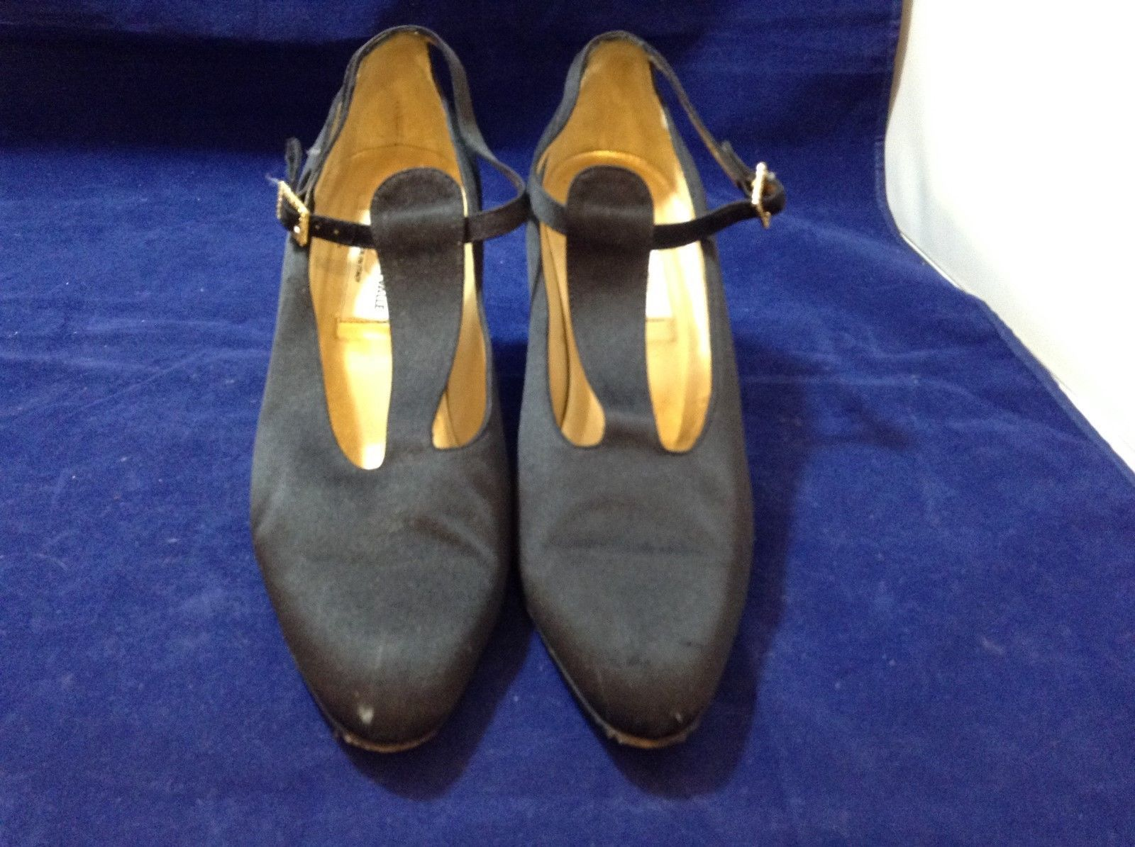 Diego Della Valle Women's Black High Heel Shoes Sz 5.5