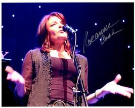 ROSANNE CASH  Authentic Original  SIGNED AUTOGRAPHED 8X10 PHOTO w/COA 179 - $85.00