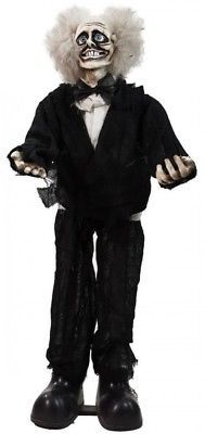 Animated Crazy Man Halloween Decoration Touch Activated Spooky Indoor Decor 31