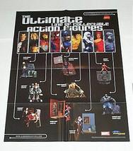 Marvel action figures poster: Ironman/Wolverine/Punisher/Avengers/Spiderman/Hulk - $29.69