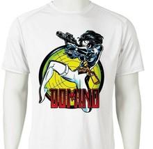Domino Dri Fit graphic Tshirt moisture wicking superhero comic SPF sun shirt tee image 2