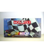 1997 Monopoly NASCAR Official Collector's Edition Parker Brothers SEALED - $27.89