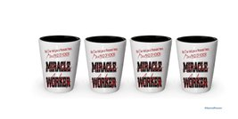 I'm Maid of Honor shot glass- Not a Miracle Worker -Maid of Hono Gifts (4) - $24.45