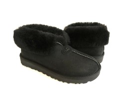 UGG MATE REVIVAL BLACK SHEARLING LINED MOCASSIN SHOE US 8 / EU 39 / UK 6 - $115.01