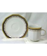 Tirschenreuth Cobalt Blue Demitasse Cup And Saucer #2142 - $9.44